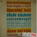 Eladó FÜLÖP KÁLMÁN szerzeményei - NEVES ELŐADÓKKAL (1983)