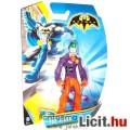 Batman figura - 10cmes Joker meseh?s játék figura 5 ponton mozgatható - DC Mattel