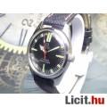 Eladó Svájci mechanikus felhúzós felújított TITUS férfi óra fekete számlap