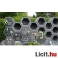 urnafal elem(ek),kolumbárium építő,hexagon fakkok