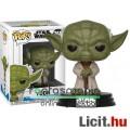 Eladó 10cmes Funko POP Star Wars Joda / Yoda jedi mester figura - Csillagok Háborúja - Clone Wars nagyfejű