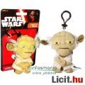 Eladó Star Wars plüss figura - 9cmes Yoda / Joda beszélő mini plüss játék jedi figura - Új Csillagok Hábor