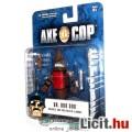 Eladó Axe Cop képregény figura - Dr Doodoo a gonosz ürülék figura kis kakakatonával és fegyverekkel