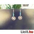 Eladó Tibeti ezüst, türkizkék fülbevaló
