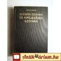Eladó Idegen Szavak és Kifejezések Szótára (Bakos Ferenc) 1986 (5kép+Tartalo