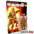 Eladó 14cm-es Walking Dead - Shiva Force Ezekiel figura fegyverrel és mozgatható végtagokkal - G.I Joe Tig