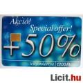 Eladó Telefonkártya 2000/10 + 50 % (2képpel :)