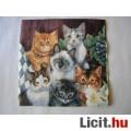 Eladó szalvéta - cicák
