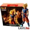 Eladó 28cm-es Dragon Ball figura - Son Goku Super Saiyan óriás szobor figura háromféle fejjel - Banpresto