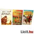 Eladó Használt könyv - 3db Conan - a Barbár, a Szigetek Ura, és a Démonkapu - régi regény