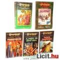 Eladó Használt könyv - 5db DragonLance Kalandvágy, Tavaszi hajnal Szárnyai, Pusztulás, Múlt és Jövő Ura, I