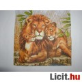 szalvéta - oroszlánok
