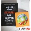 Eladó Müller Pétzer Sziámi dalszövegkönyv+ Cd