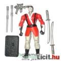 Eladó GI Joe figura - Cobra Slash ninja figura összeállítható harci-bottal és dupla karddal - Hasbro - cso