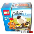 LEGO City / Város 5610 Munkás minifigura betonkeverővel - Új, bontatlan