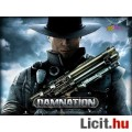 Xbox 360 játékszoftver: Damnation, eredeti DVD tokjában, kiváló állapo