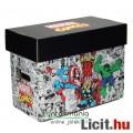 Eladó Képregény tároló doboz - Marvel Bosszúállók - Comics Short Box / Storage Box 40x21x30 cm - Marvel Co