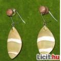 Eladó csiszolt kagyló fülbevaló (új)