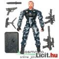 Eladó GI Joe figura - Shipwreck terepmintás katona figura mesterlövész felszereléssel és talppal - Hasbro
