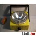 Retro Lámpa Elemes kb.1980 (talán NDK) Sárga (5képpel)