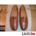 Eladó Új női cipő 37 bőr konyak szín