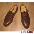 Eladó Kézzel készült bőr alkalmi férfi cipő,méret:39