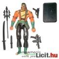 Eladó GI Joe figura - Nunchuck V3 ninja katona figura háromágú lándzsával, karddal és talppal - Hasbro - c