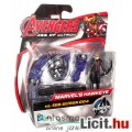 Eladó mini Bosszúállók figura - 6cmes Sólyomszem / Hawkeye figura robot ellenség kiegészítővel - Avengers