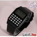 Eladó Számológépes olcsó fekete karóra új retro stílusú - FoxPost 500 forint