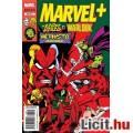 Eladó x új Marvel+ képregény 28. szám 2016/4 Benne: Ezüst Utazó és Warlock, X-Men - Új állapotú magyar nye