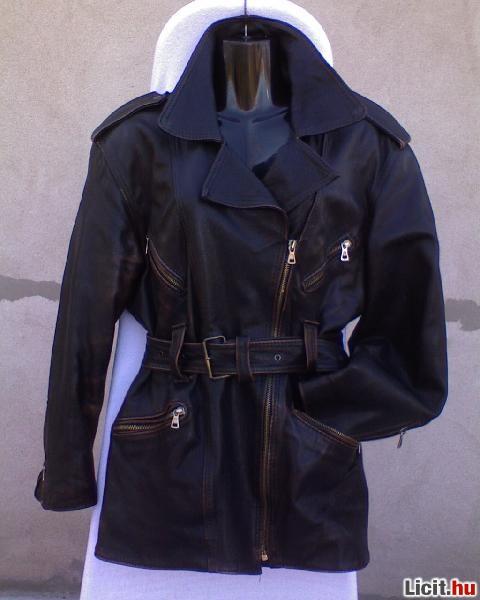Licit.hu  Női motoros fazonú bőr dzseki kb.36 38-as Az ingyenes ... 6ffe22b1e5