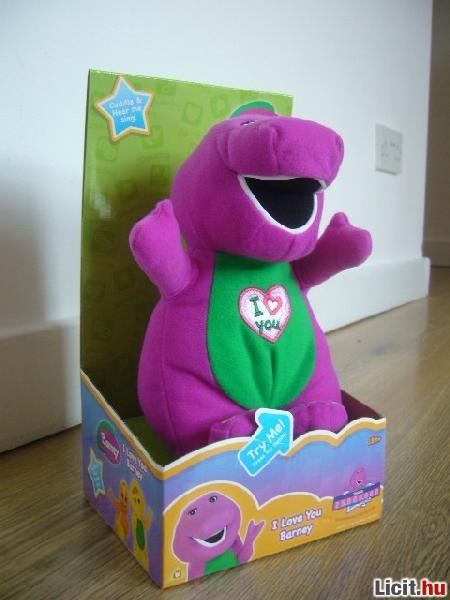 Licit.hu Barney új éneklő plüss 25 cm Eredeti  10 Inch  Az ingyenes ... 13fb8a90ab