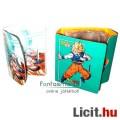 Eladó Dragon Ball / Dragonball figura - retro kártya tartó / gyűjtő / album DBZ és GT grafikával - használ