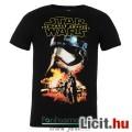 Eladó eredeti Star Wars Captain Phasma póló - felnőtt L méret - hivatalos Csillagok Háborúja fekete póló S