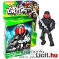 Tini Nindzsa / Ninja Teknőcök 4-5cmes Foot Soldier Talpas ninja figura piros szemellenzővel - Mega B