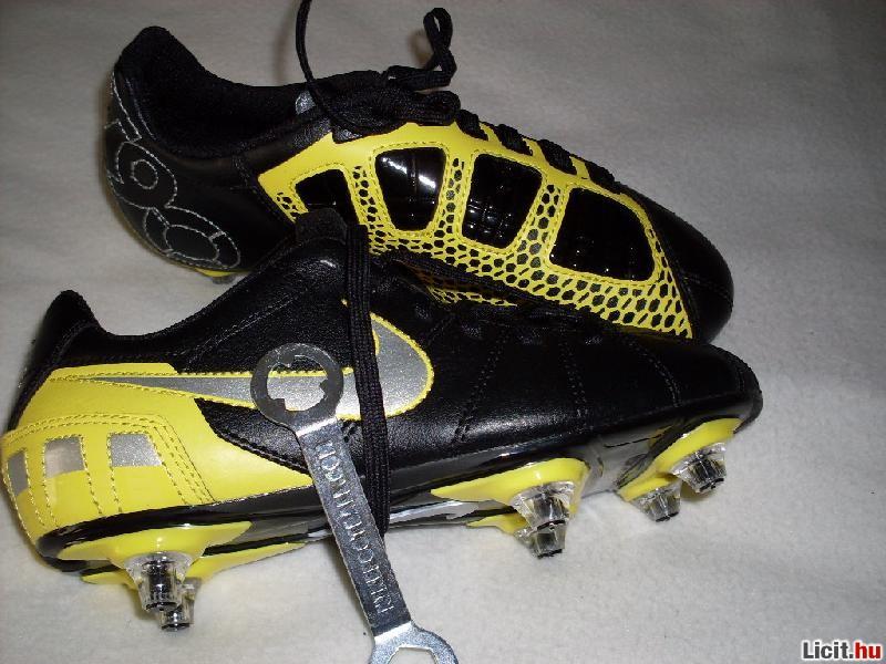 Licit.hu nike stoplis kulcsos fekete-sárga új focicipő eladó Az ... 917c73ce11