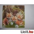 szalvéta - kis rókák