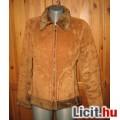 Eladó barna szőrmés kabát,méret:S