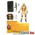 Eladó GI Joe figura - 25th Cobra Officer Desert Specialist v8 100% komplett figura filecarddal - csom.