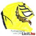Eladó felvehető Pankráció / Pankrátor Maszk - sárga Rey Mysterio maszk arany-kék díszítéssel - szövetből,