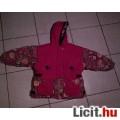 Eladó Piros-virágos Kapucnis kislány dzseki 122-es