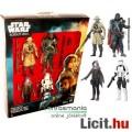 Eladó 10cmes Star Wars figura 4dbos szett - Saw Gerrera, Imperial Hovertank Pilot, Edrio Two Tubes és Jyn