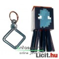 Eladó 5-6cmes Minecraft Tintahal / Squid figura - mozgatható minifigura + rárakható kulcstartó, csom. nélk
