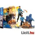 Eladó 18cmes Star Trek figura - Mr Spock TOS The Original Series megjelenés - trikorderrel, cserélhettő te