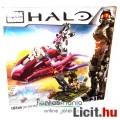 183 elemes Halo Mega Bloks - Covenant Spectre vs Spartan - jármű +3db minifigura építőjáték készlet