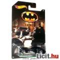 Eladó Batman Hot Wheels Batmobile fém autó - 1989 Tim Burton klasszikus mozi film megjelenés 1:64 méretará