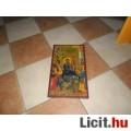 Eladó Nagyon szép ikon ..antik fára festett ...42.5 cm x25 cm 60-as évek