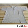 Eladó szürke galléros póló (XL - új)