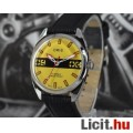 Eladó Svájci mechanikus felhúzós felújított ORIS férfi karóra sárga számlap