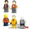 Eladó LEGO mini figura szett - 5db minifigura ember - használt, csom. nélkül